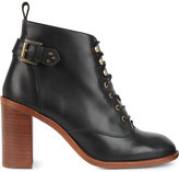 KG by Kurt Geiger Sweet heeled leather ankle boots