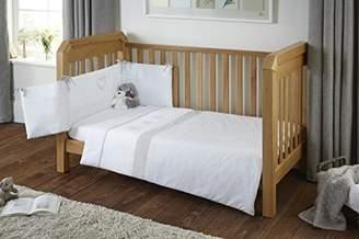 Clair De Lune Cot Bed Bedding Set, Secret Garden