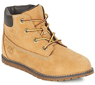 Timberland POKEY PINE 6IN BOOT WITH girls's Mid Boots in Beige