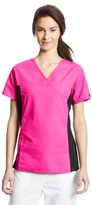 Cherokee Women's 2874 V-Neck Knit Panel Scrub Top