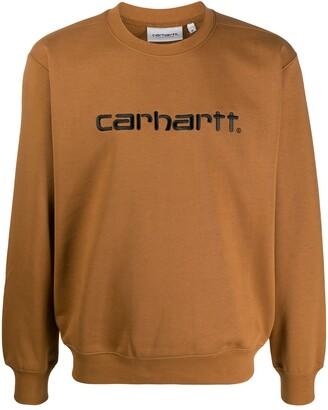 Carhartt WIP logo embroidered sweatshirt