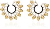 Nikos Koulis Lingerie Front Hoop Earrings