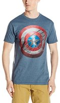 Marvel Men's Captain America Civil War Shield T-Shirt