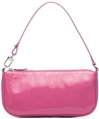 BY FAR Rachel patent-leather shoulder bag