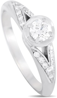 Heritage Bvlgari Bulgari Platinum 0.36 Ct. Tw. Diamond Engagement Ring