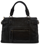 Liebeskind Berlin Kay Woven Leather Satchel