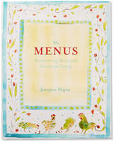 Sur La Table My Menus: Remembering Meals with Friends and Family by Jacques Pepin