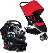 Britax B-Agile 3 Travel System - Red/Cowmooflage
