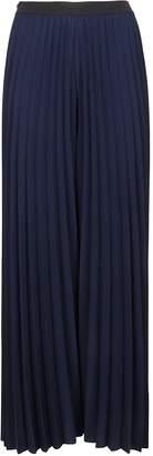 Fabiana Filippi Blue Technical Fabric Trousers