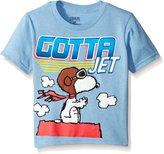 Peanuts Toddler Boys Gotta Jet Short Sleeve Tee