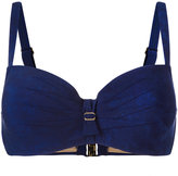 Marlies Dekkers Puritsu Plunge bikini top - women - Polyamide/Polyester/Spandex/Elastane - 70D