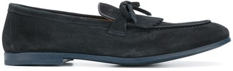 Doucal's Fringed Tongue Loafers