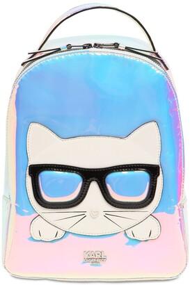 Karl Lagerfeld Paris Iridescent Choupette Backpack