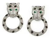 Effy Jewelry Signature Diamond and Emerald Earrings, 1.57 TCW
