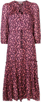 Ulla Johnson tie waist floral dress
