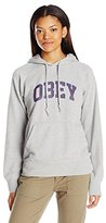 Obey Women's Learning Pullover Hoodie
