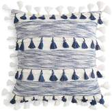 Sky Space Dye Tassel Decorative Pillow, 20 x 20 - 100% Exclusive
