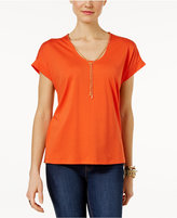 MICHAEL Michael Kors Chain-Neck T-Shirt