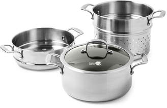 Green Pan 4-Piece Diamond Clad Ceramic Non-Stick Multicooker Set