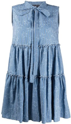 Frankie Morello layered ruffle dress