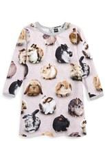 Molo Infant Girl's Caroline Rabbit Print Dress