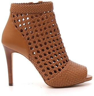 MICHAEL Michael Kors Augustine Caged Detail Heel Ankle Boots