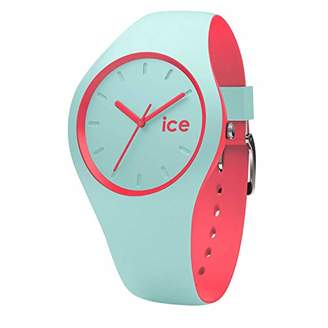 Ice Watch Ice-Watch - Ice Duo Mint coral - Women's Wristwatch with Silicon Strap - 001490 (Small)
