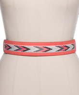 wide belt in coral shopstyle australia