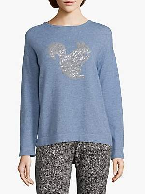 Betty Barclay Squirrel Embellished Jumper