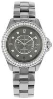 Chanel J12 H2566 Ceramic & Diamonds Automatic Ladies Watch
