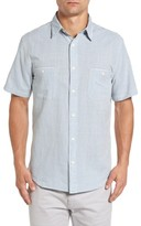 Faherty Men's Seasons Stripe Sport Shirt