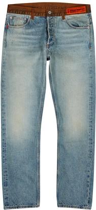 Heron Preston Light blue slim-leg jeans