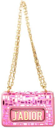Christian Dior Pink Leather J'adior Mini Mosaic Of Mirrors Bag