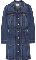 Current/Elliott Dorothy Denim Shirt Dress - Mid denim