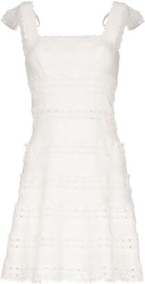 Zimmermann Kirra broderie anglaise mini dress