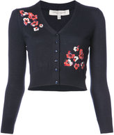 Carolina Herrera floral embroidered cardigan