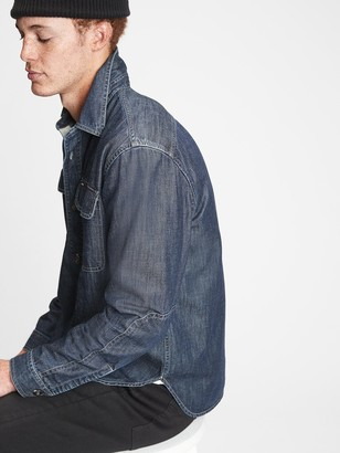 Gap Denim Worker Shirt in Standard Fit