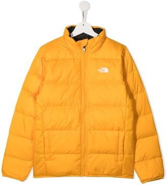 The North Face Kids TEEN reversible padded jacket