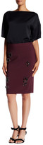 Trina Turk Embellished Jewel Dorris Skirt