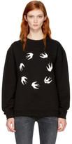 McQ Black Circle Swallows Sweatshirt
