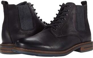 Steve Madden Ballot Lace-Up Boot (Black) Men's Shoes