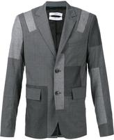 Oamc 'Patch 2-Button' blazer - men - Cupro/Virgin Wool - 50