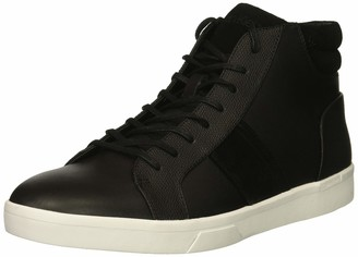 Calvin Klein Men's IGNOTUS Smooth Calf/Suede/Small Tumbled Sneaker