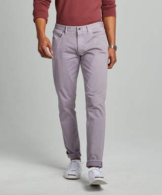 Todd Snyder Slim Fit 5-Pocket Garment-Dyed Stretch Twill in Lavender