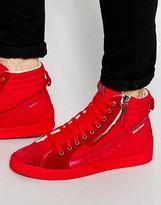 Diesel D-String Suede Sneakers