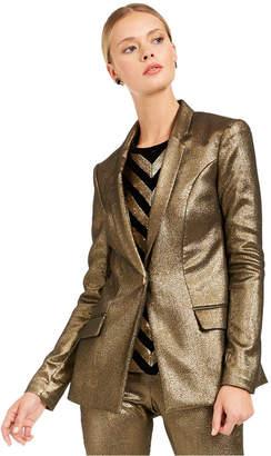 INC International Concepts Inc Metallic Blazer