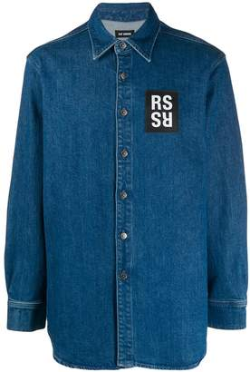 Raf Simons button-up shirt