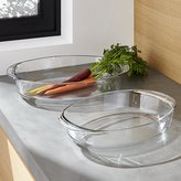 Crate & Barrel Duralex Oval Baking Dishes