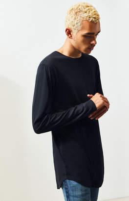 Proenza Schouler Basics Basics Mertzon Long Sleeve Scallop T-Shirt