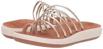 Ancient Greek Sandals Hypatia Comfort (Platinum) Women's Shoes